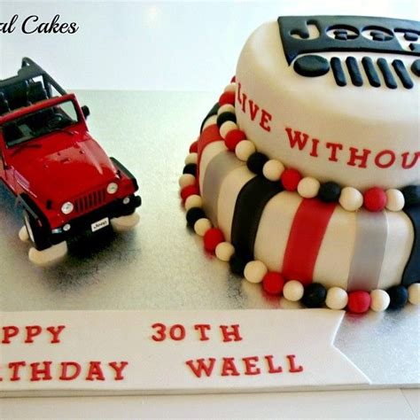 jeep cupcake cake myspecialcakes jeep themed cake webstagram cakes
