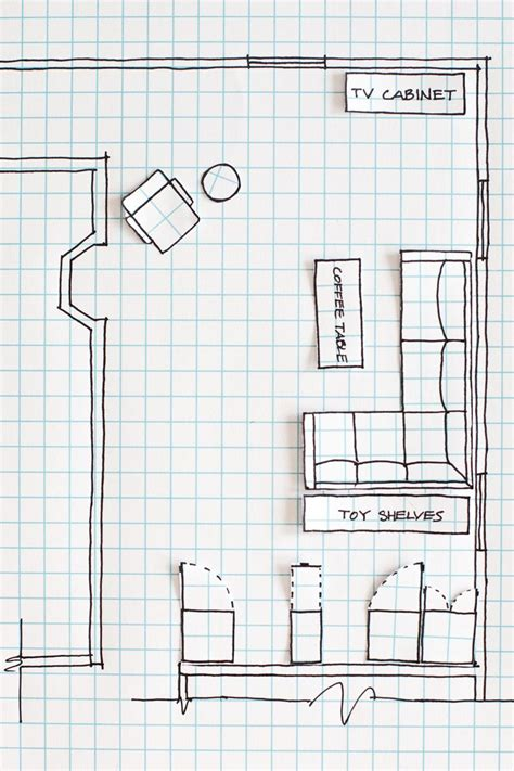 home design graph paper how to draw a floor plan without any special tools or