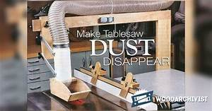 #1744 DIY Table Saw Dust Collector • WoodArchivist