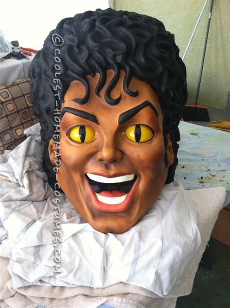 outrageous michael jackson mask  thriller costume