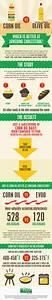 Corn Oil vsExtra Virgin Olive Oil