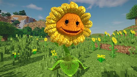 minecraft pvz sunflower build schematic buy royalty