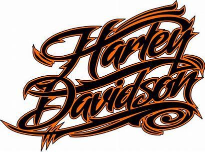 Harley Davidson Stencil Transparent Motorcycle Clipart Clip