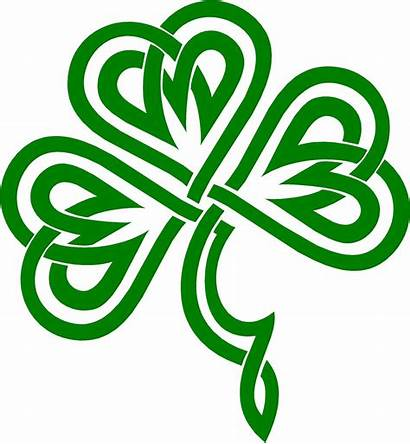 Shamrock Designs Clipart Celtic Clover Irish Knot