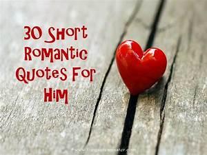 30 Short Romant... Sweet Romantic Relationship Quotes