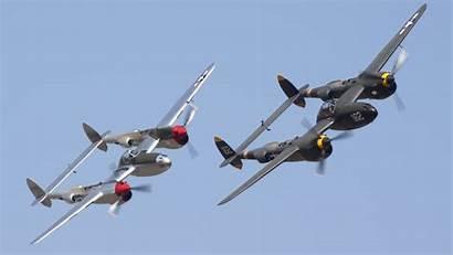 Lightning Aircraft 38 P38 Planes Fighters Lightnings