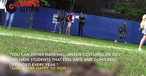 VIDEO: Yale students love the idea of outlawing Halloween