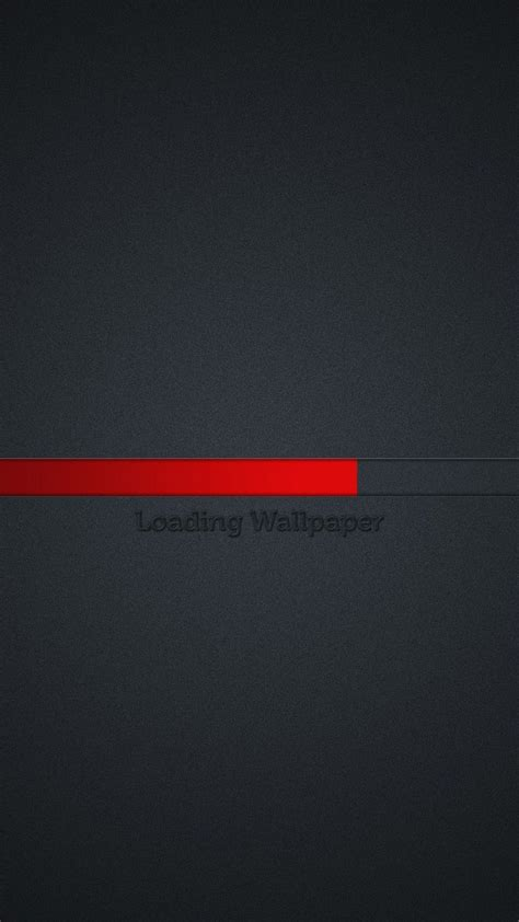 loading wallpaper red  grey background android