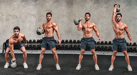 kettlebell exercises forearms clean press upper body muscle power workout workouts massive routine arms bigger single arm bernal per strength