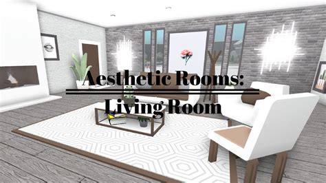 roblox   bloxburg aesthetic rooms living
