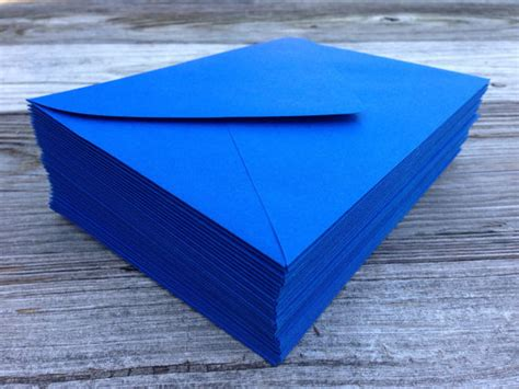 a 7 envelope 50 a7 5x7 or 4 bar royal blue envelopes paper source