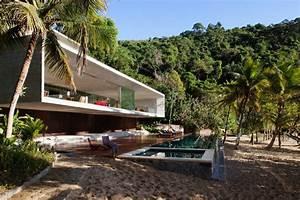 Rio At Home : modern beach house on the brazilian coast idesignarch ~ Lateststills.com Haus und Dekorationen