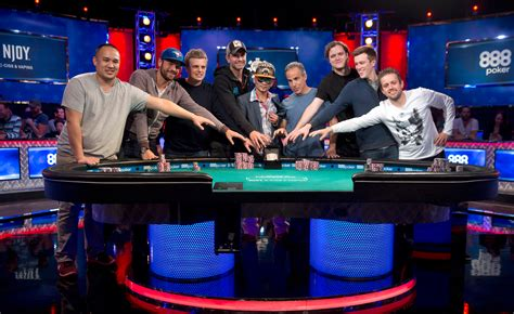world series of poker final table from 6 737 to 9 final table set for world series of poker