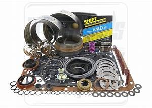 Ford A4ld Transmission Deluxe Rebuild Kit 1985  Bands
