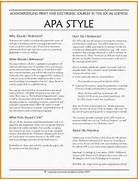 7 Example Of Apa Style Nypd Resume Example Of Apa Citation In Paper APA Citation Handout In Paper Citation Online Writing Lab APA Reference Page Aims Community
