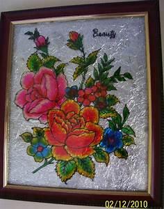 Bhuvana, U0026, 39, S, Creative, World, Glass, Painting