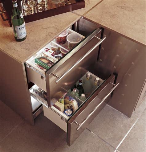 monogram zidshss   built  double drawer compact refrigerator   cu ft