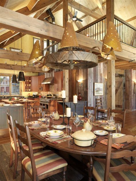 Endearing Rustic Dining Room Design   Amaza Design
