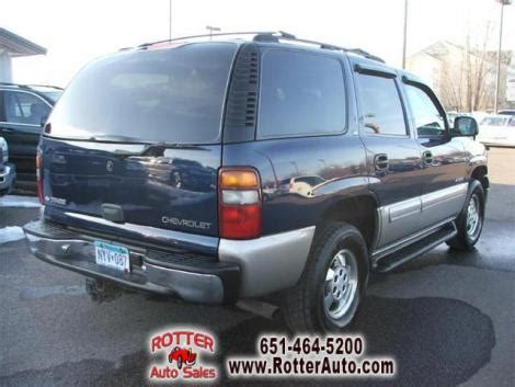 used table ls for sale 2000 chevrolet tahoe ls for sale in forest lake mn under
