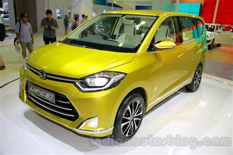 Daihatsu Indonesia by Daihatsu Ufc 3 Mpv Concept Indonesia Live