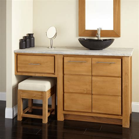 Vanity Area In Bathroom by Different Types Of Bathroom Vanity With Makeup Area Ideas