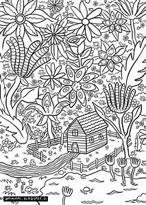 Optimimmi  A Paradise  A Coloring Page     Paratiisi