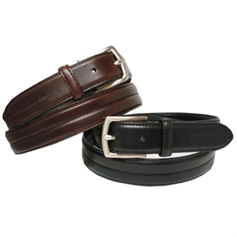 Italian Cowhide Leather by Italian Tanned Cowhide Leather Belt 1 1 8 Quot Wide Belt