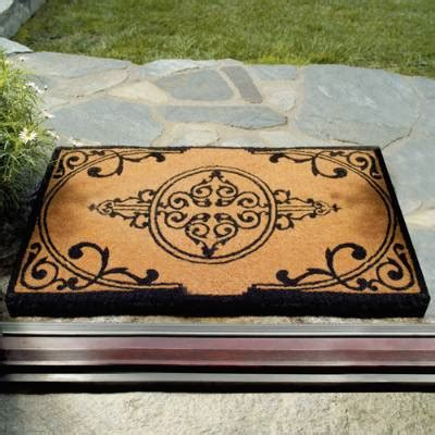 frontgate outdoor doormats imperial coco mat frontgate