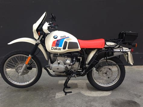 Bmw R100gs by Bmw R100gs Dakar Pics Specs And List Of Seriess By