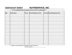 Day Sheet Template Best Photos Of Daily Sign In Sheet Day Care Sign In And Out Sheet Employee Daily Sign In Sign