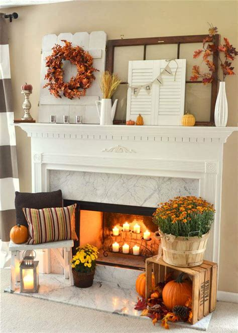 Fall Ideas For Decorating - 29 best farmhouse fall decorating ideas and designs for 2019