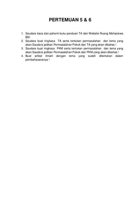 Contoh Artikel Ilmiah Sederhana - Contoh 43