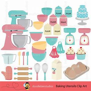 Baking Clipart Baking Utensils Clip Art Baking Equipment
