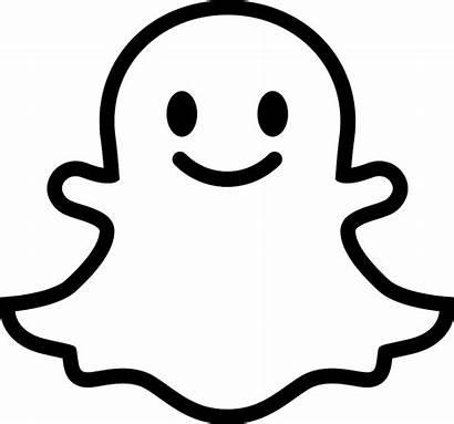 Snapchat Ghost Svg Face Logopedia Logos Wikia