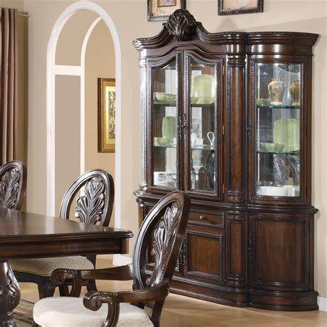 cherry wood china cabinet coaster traditional china cabinet cherry cabinets