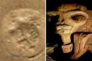 Alien face discovered on Mars in eerie NASA photo of Red ...