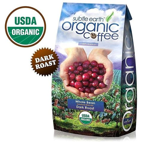 I am pleased to have discovered this coffee and walmart is prompt to deliver. Subtle Earth Organic Dark Roast Whole Bean Coffee 5LB - Walmart.com - Walmart.com