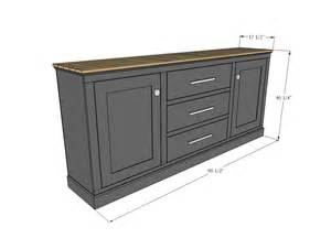 buffet kitchen furniture white build a planked wood sideboard free and easy diy project and furniture plans