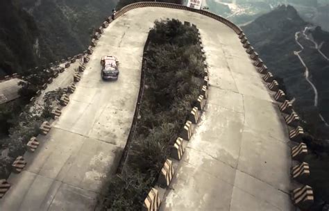 red bull drifts sc  supra  insane chinese mountain
