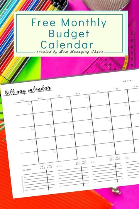 printable monthly bill payment log monthly budget