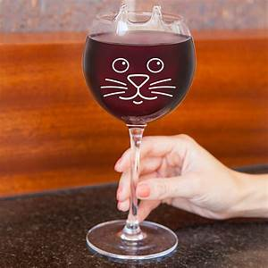Verre A Vin : verre vin chat avant j 39 tais riche ~ Teatrodelosmanantiales.com Idées de Décoration