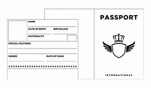 1000 ideas about passport template on pinterest road With passport picture template