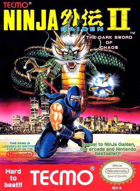 Ninja Gaiden Ii The Dark Sword Of Chaos Game Giant Bomb