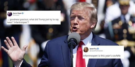 trump news president accidentally   word
