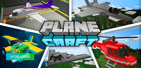 Minecraft Planecraft Add On Download And Review Mcpe Game