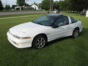 Eagle Talon Coupe 1990 White For Sale  4e3ct64u9le137667 1990 Eagle Talon Tsi Awd 1st Generation