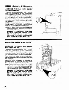 Model 113 248210  U0026 113 248320  Aligning The Blade And