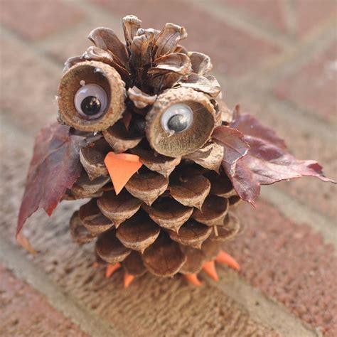 the chew templates pine cones animals pinecone crafts for preschoolers