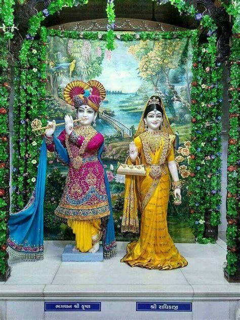 alter decoration ideas krishna   radha krishna