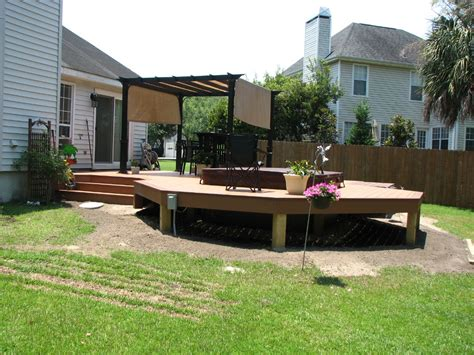 Planning Your Backyard Deck Designs — Home Ideas Collection